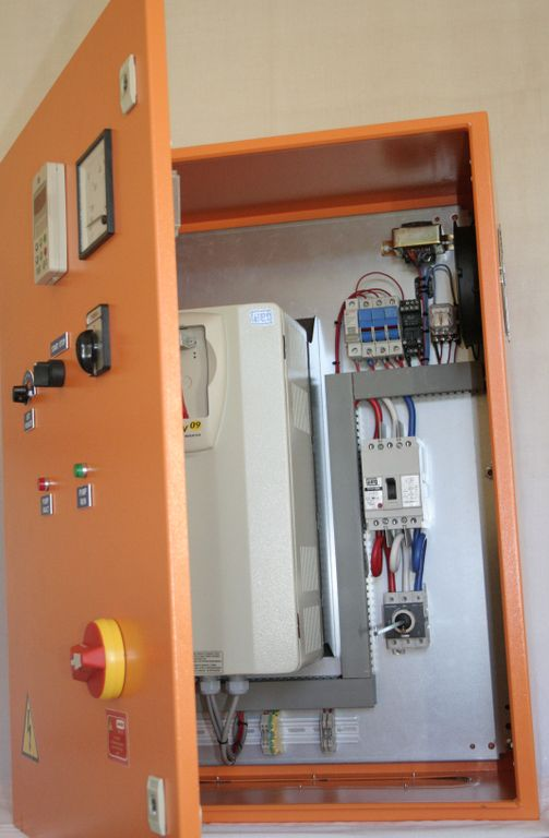 Variable speed drives box